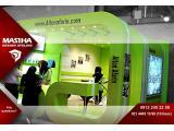 غرفه سازی و غرفه آرایی نمایشگاهی با متد جدید و سبک های به روز