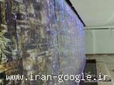 آب نما ریسه ای طرح منظر آریا،آبشار خانگی،آب نما شیشه ای،آب نما فیبر نوری