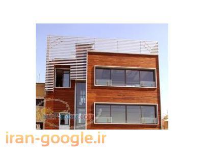 نمای چوب ساختمان از چوبهای ترمو(ترمووود) پارکت تمام چوب ؛ دکینگ انواع