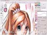 آموزش رنگ آمیزی یک کاراکتر کارتونی ژاپنی در نرم افزار SketchBook Pro