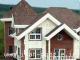 اجرای سقف ، ورق پوشش سقف شیب دار آندولین و آندوویلا