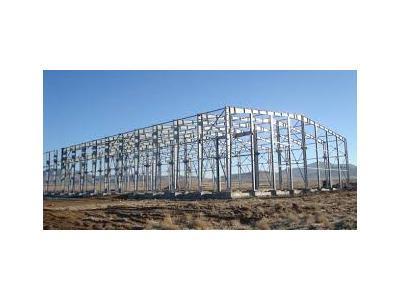 ساخت و نصب سازه های فلزی ، اجرای سازه نگهبان و خرپا