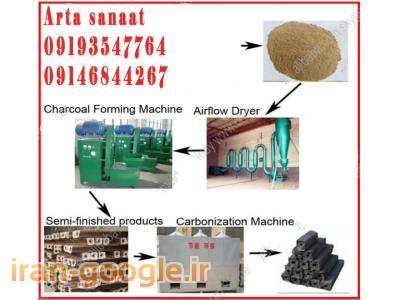 دستگاه تولید زغال/ذغال فشرده چینی