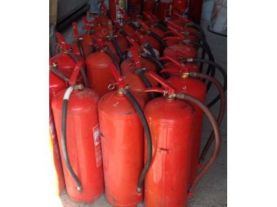 تست و توزیع کپسول های آتش نشانی