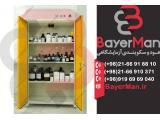 تولید پرکاربردترین کمد نگهداری مواد شیمیایی در شرکت بایرمن
